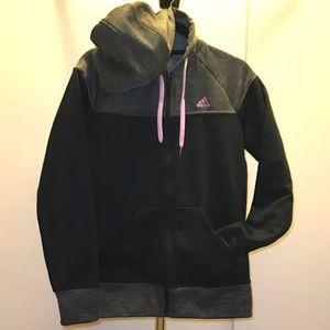 NWOT Adidas Climawarm Zip Up Hoodie Jacket